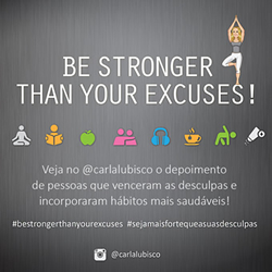 Projeto Be stronger than your excuses